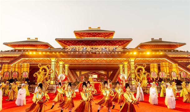 一座乐园引爆一座城,荆州方特开园一年吸引百余万游客打卡